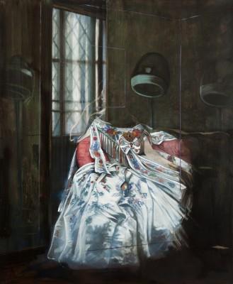 5 Olivier Masmonteil, J.A.D.I. 2, 2013, Oil on canvas, 197 x 163 cm, Courtesy Galerie Dukan